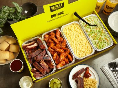 Cheer on Your Bracket Picks with Fan Favorites at  Dickey's Barbecue Pit
