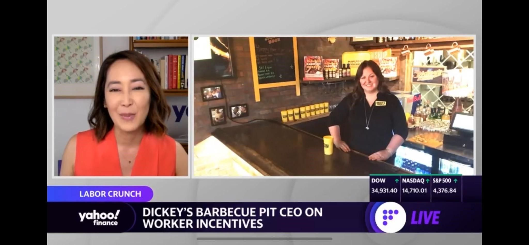 Labor Shortage Putting an 'incredible strain' on Business: Dickey's Barbecue Pit CEO