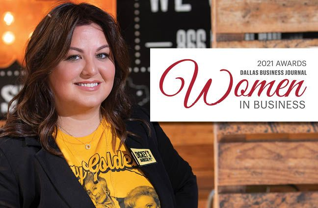 2021 Dallas Business Journal Women in Business Award