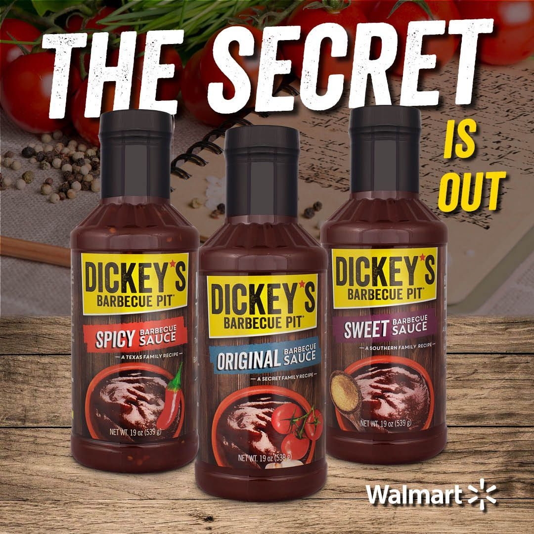 Sweet and Spicy Barbecue Sauce Launch