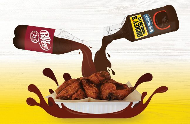 Wing Boss Teams Up with Keurig Dr Pepper to Feature Limited-Time Barbecue Sauce Pit-smoked wing concept partners with popular Dallas-based beverage company to offer Dr Pepper Barbecue Sauce