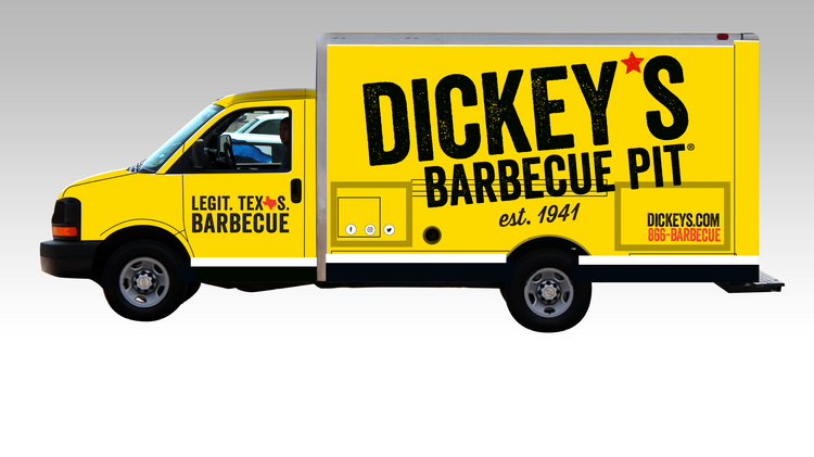Dickey's Expands Food Truck Model