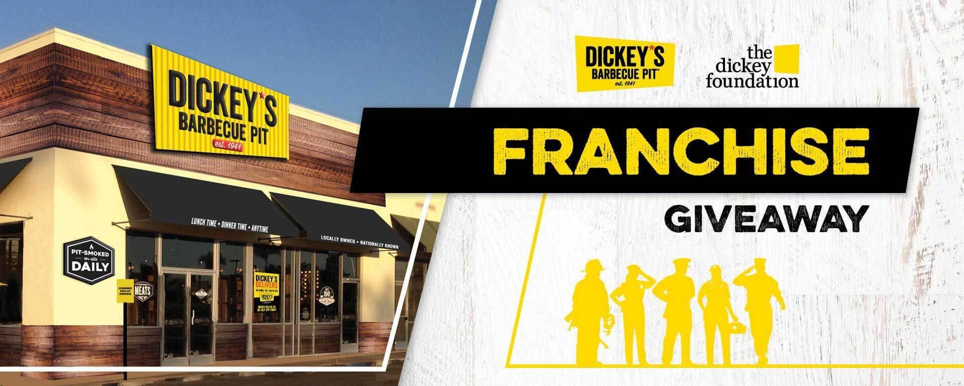 Franchise Fee Giveaway for Dickey's Barbecue Pit