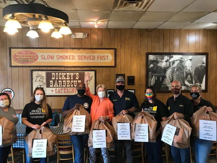 Dickey's Barbecue Owner Feeds Every Firefighter in Garland