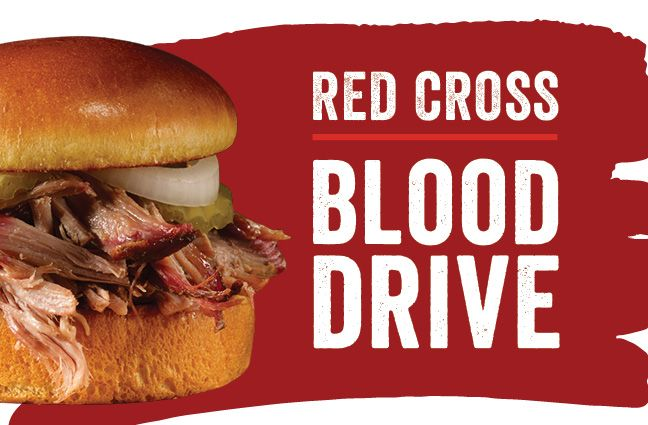 Dickeys BBQ Red Cross Partnership For Blood Drive