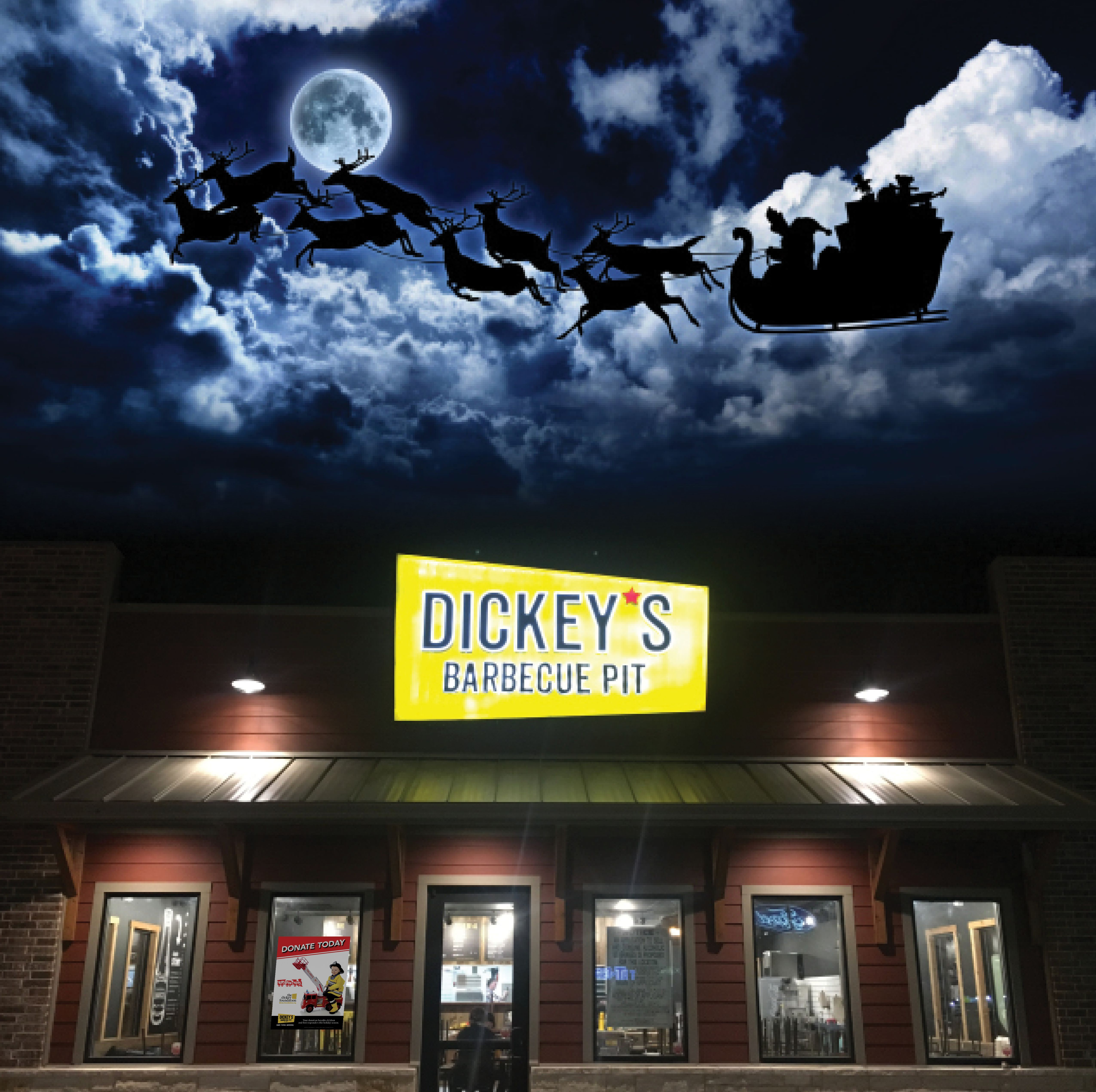 Dickey's Helps Bring The Magic of Christmas to More Children This Year