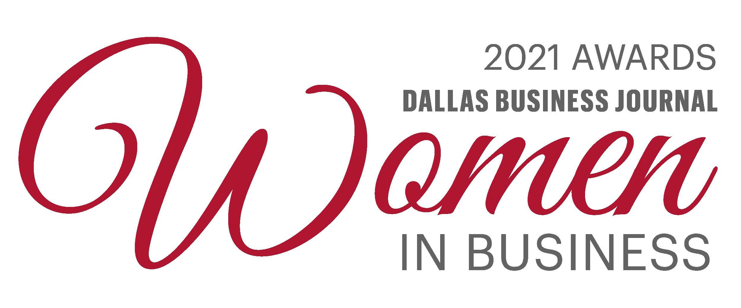 Dallas Business Journal, Women in Business Awards