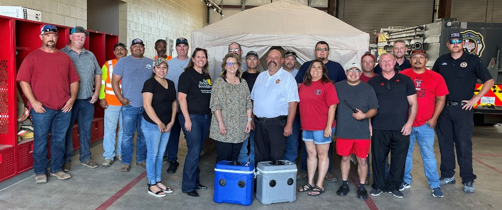 The Dickey Foundation Makes Donation to the Levelland Fire Department